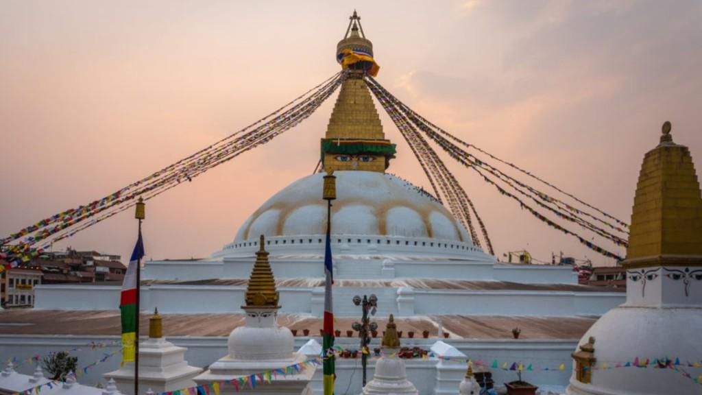 De straten van Kathmandu